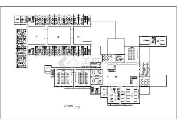 某地区缪旅馆建筑设计图纸(学生设计)图片