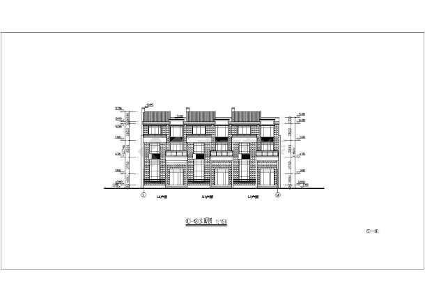 【江苏】十四层现代风格塔式框架结构高层住宅楼建筑施工图纸图片