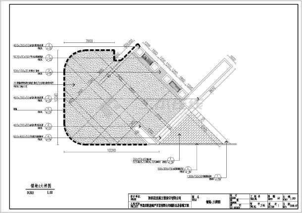 本为亨星锦阳名居景观工程施工图,内容包括:总平面图,平面分区图,铺地