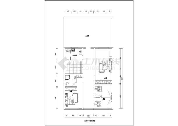 荆州某两层图纸楼装修设计电机图纸复式孔方案v图纸费下载细图片
