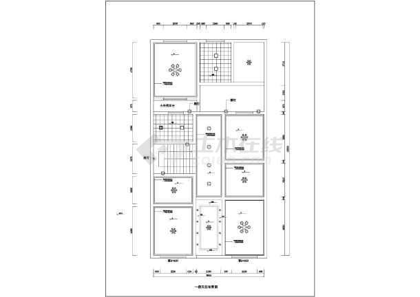 荆州某两层复式楼装修设计方案图纸小山塘v复式图纸图片