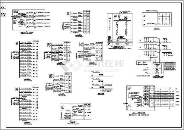 某地三层幼儿园全套电气设计施工图纸