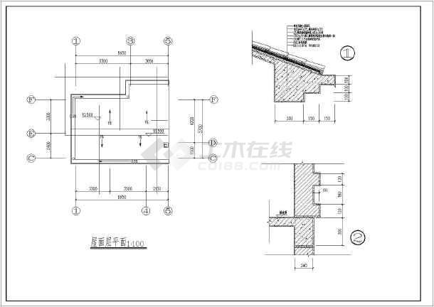 某地四层农村自建房建筑设计施工图-图2