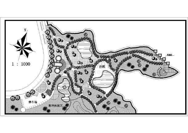 小游园设计手绘套图