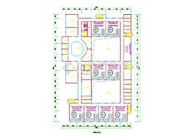 【上海】某机关幼儿园建筑平面设计图