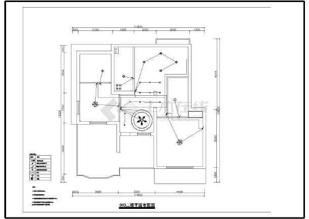 某地区二层别墅欧式室内设计装修图,包括各楼平面布置图,各楼顶面