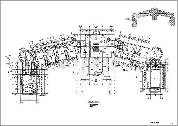 图纸 建筑图纸 商业建筑 会所设计 某地多层欧式会所,幼儿园建筑设计