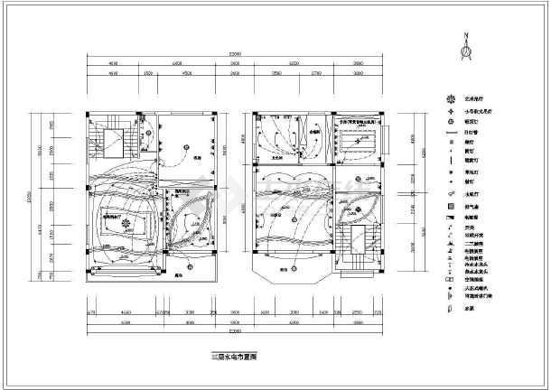 某地海景花园别墅整套装修设计施工图