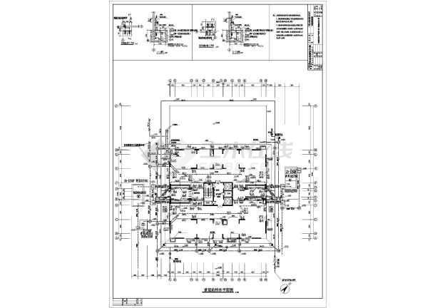 民用建筑7#新建集资楼给排水设计图纸