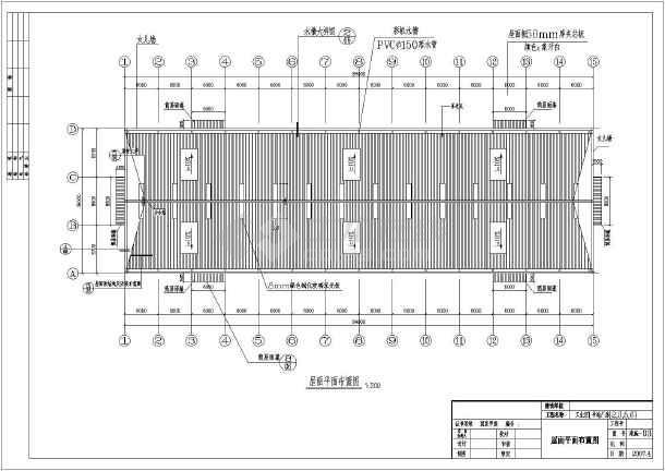 厂房结构设计 轻钢结构厂房 某地单层钢结构厂房全套建筑及结构施工图