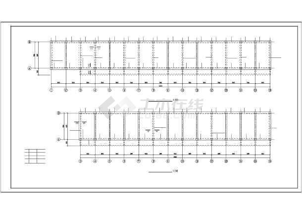 某小学砖混教学楼加固结构设计施工图