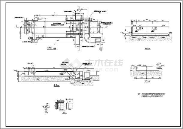 图纸 建筑结构图  地基基础图纸  其他基础施工图(基础施工)  某锅炉