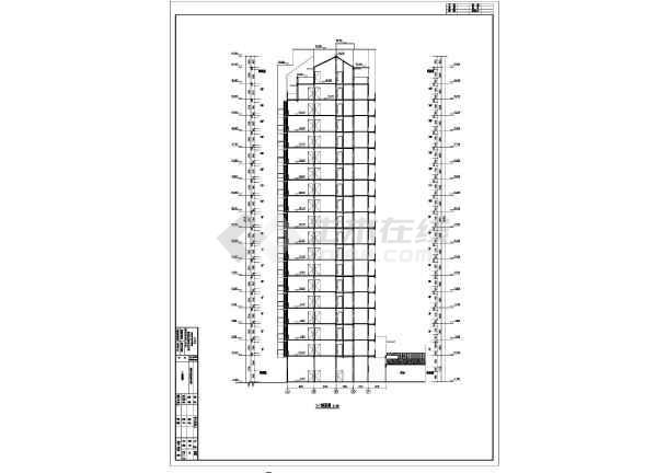 建筑节能设计说明,各层,屋顶平面图,各,各剖面图,楼梯详图,,核心筒大