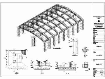 钢结构桁架图集