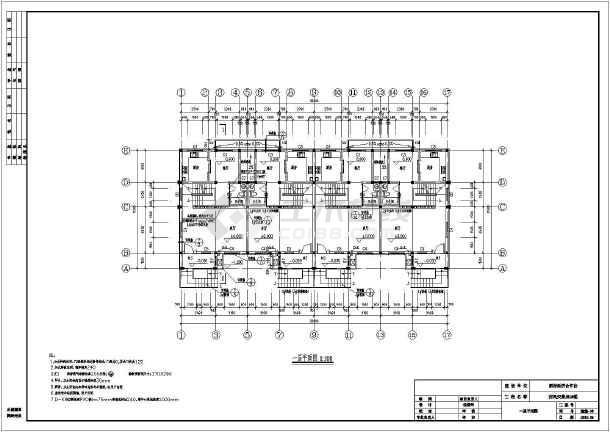 二层联排别墅图纸 二层联排别墅 农村二层别墅建筑设计 农村二层民房