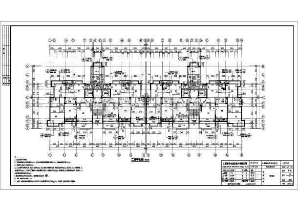 南昌某十八层新欧式住宅楼建筑设计施工图