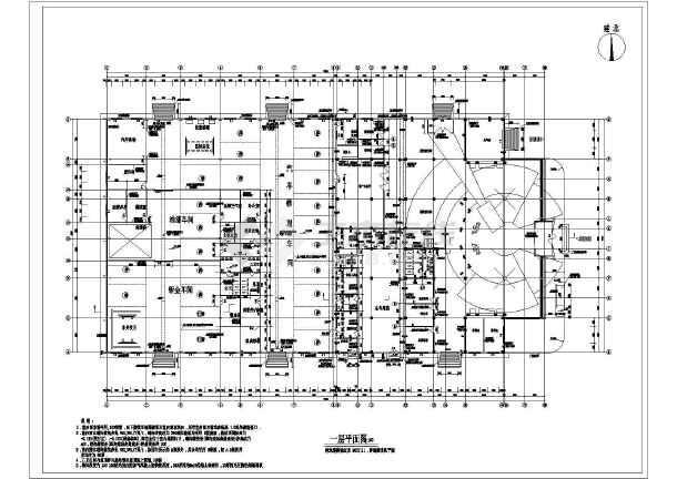 大众汽车4s店二层展示厅及修理车间建筑设计方案