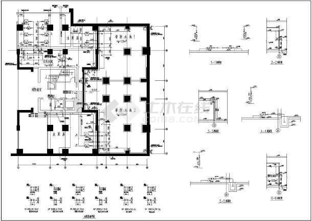 某28层绘制消防给排水六合无绝对qml建筑圆环图片