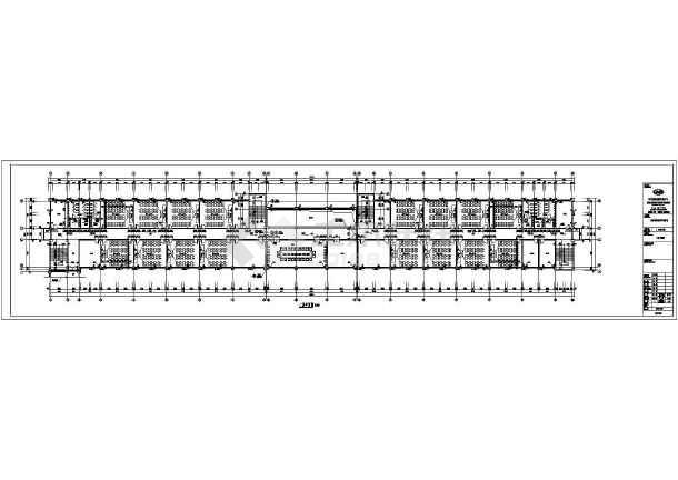 洛阳铁路工程技术学院的5层教学楼建筑专业施工图