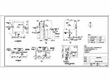 油田行业计量站,单井井场标准化设计图纸