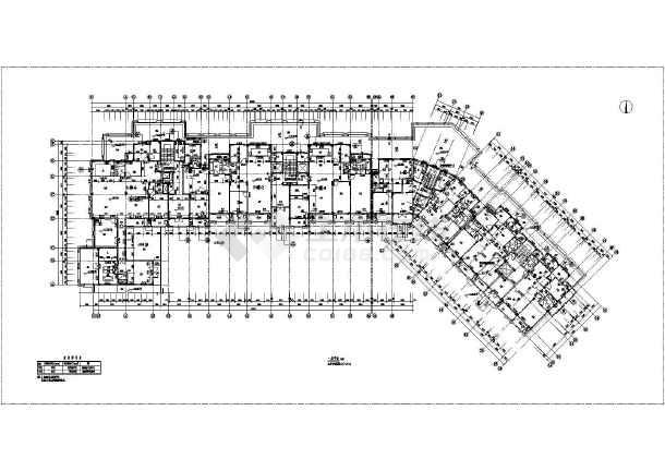 【九江】二十八层塔式框架结构高层住宅楼建筑施工图纸图片