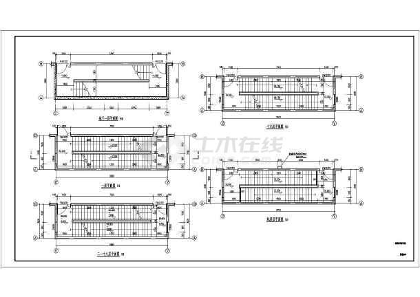 某地电梯厂电梯试验塔建筑设计施工图