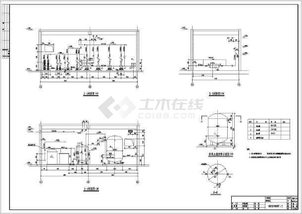 某锅炉房暖通工程全套设计施工图纸图片