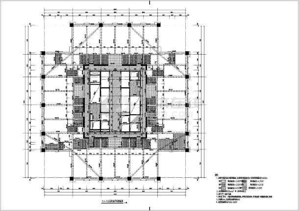 某地60层框筒结构公寓初步设计图