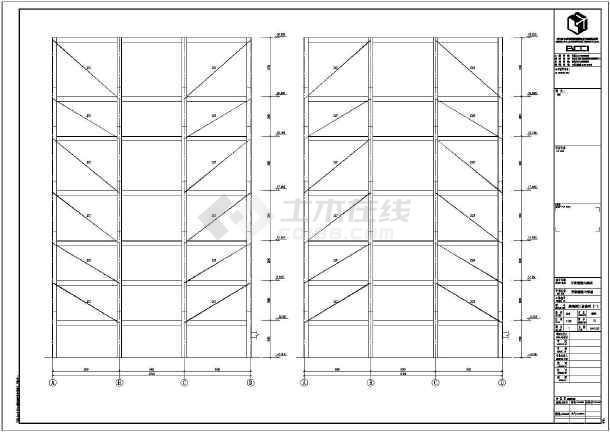 10层钢混结构高层酒店结构设计施工图_cad图纸下载cad应用程序图片