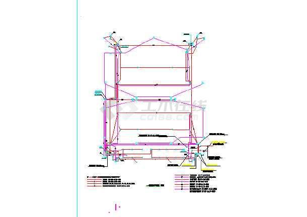 大型仓库5#及6#楼消防电图纸