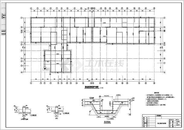 某地区18层剪力墙结构住在楼建筑结构施工图
