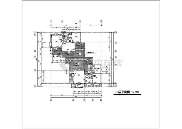 某地三层框架结构双拼别墅建筑设计方案图