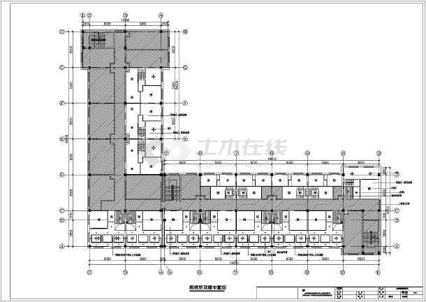 某中型能源公司办公楼及宿舍楼装修施工图