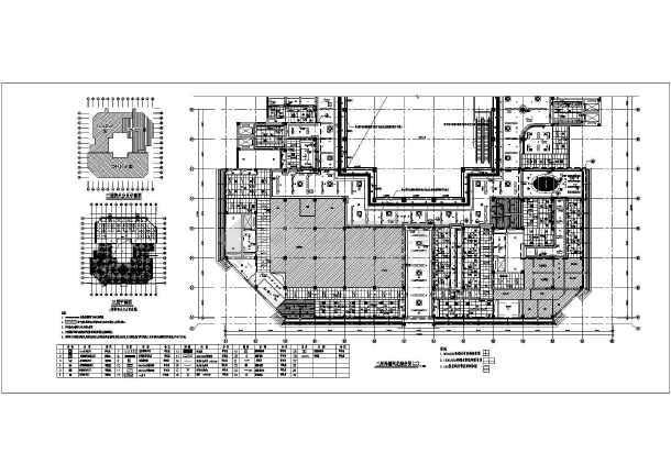 某地医院门急诊医技楼室内装修设计施工图 图1高清图片