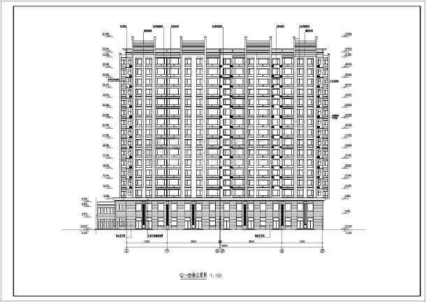 17层框支剪力墙结构商住楼建筑结构施工图