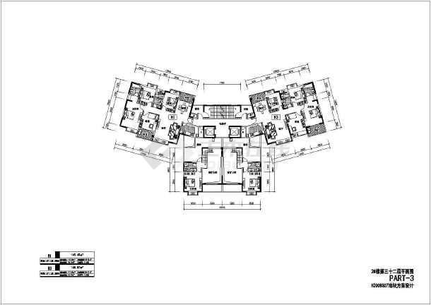 包含了不同面积不同格局户型设计图,包括大于140平米,130~140平米,120