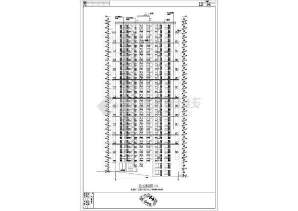 某地32层框剪结构塔式住宅建筑施工图图片