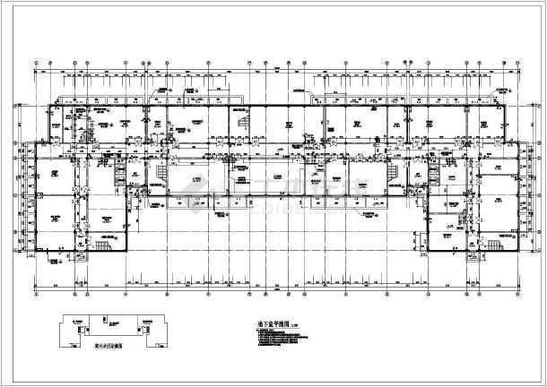某学校10层混凝土框架结构综合楼建筑施工图