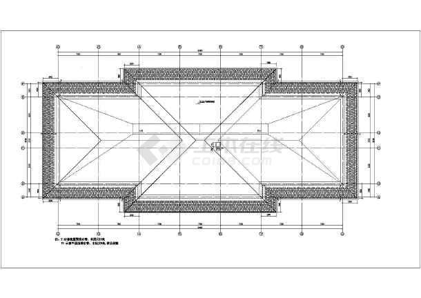 图纸内容包含:各层平面图,屋顶平面图,各立面图,各剖面图,卫生间大样
