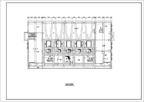 典型泵站平面及纵剖面图(共4张)-图2