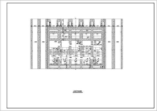 典型泵站平面及纵剖面图(共4张)-图3