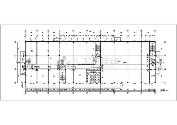 某医院传染病房及食堂建筑方案设计图