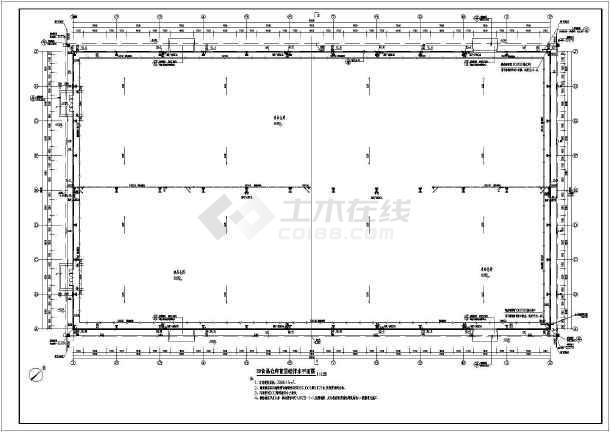 【广西】单层钢结构基地仓库全套给排水施工图
