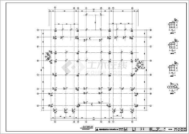 某地区两层半别墅建筑结构设计施工图(含水电暖)图片