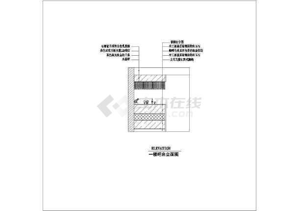 三层欧式小别墅装修设计施工图,图纸内容包括:封面,1-2层平面布置图