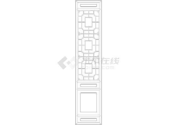 各种风格大门图块汇总(含欧式大门及中式大门)图片1