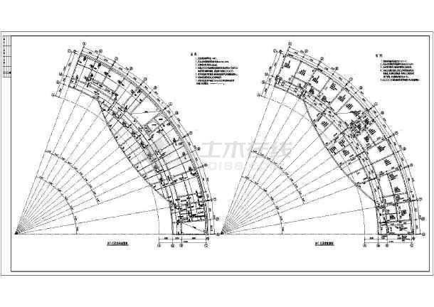 圆弧三角梁结构图