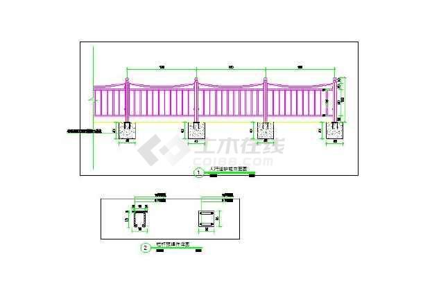 钢结构车棚施工图