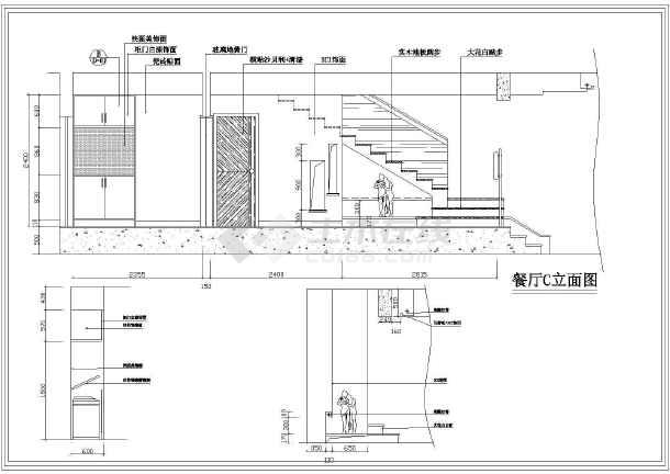 某套别墅项目室内全套装修设计施工图图片