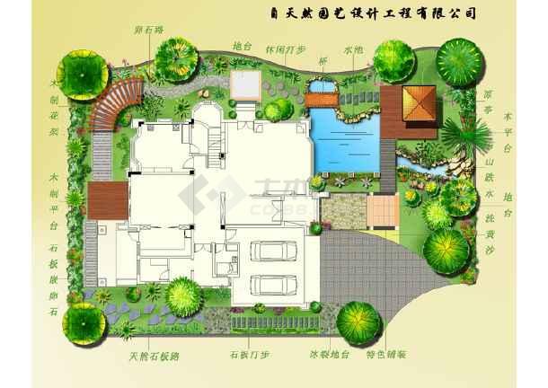 3d欧式别墅模型  所属分类:平面效果图 园林景观效果图 园林设计图